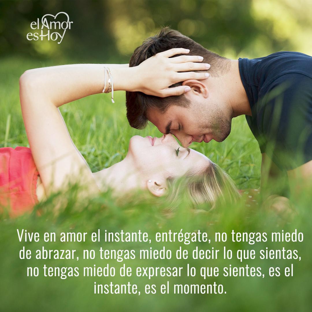 Vive en amor el instante